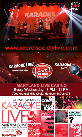 Secret Society Karaoke Live at MD Live! Casino